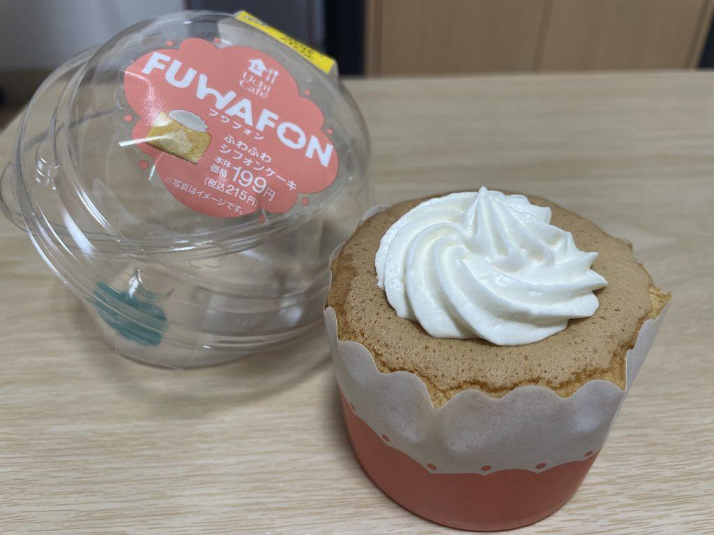 FUWAFON-フワフォン- ふわふわシフォンケーキの開封画像です